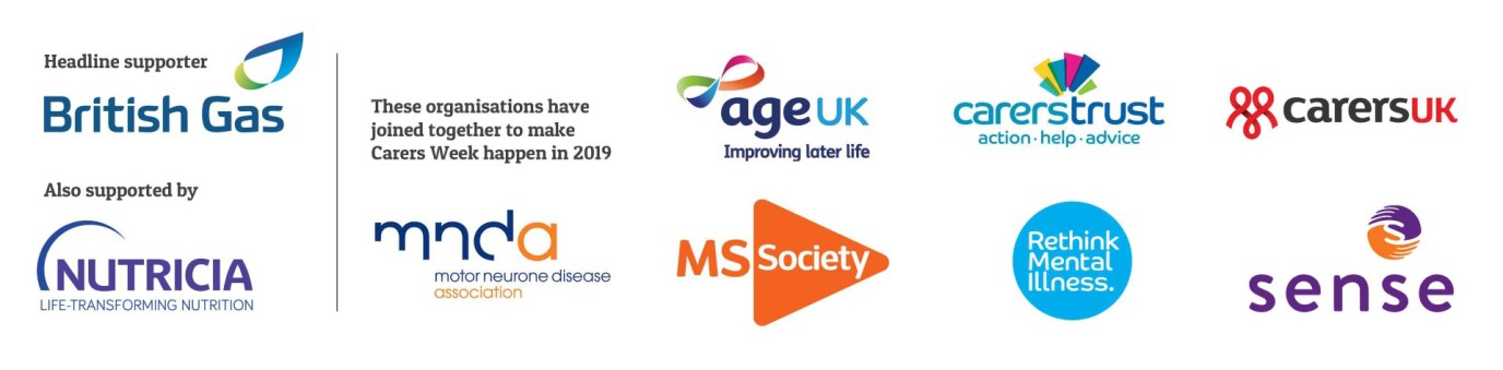 carers weeks supporters logos